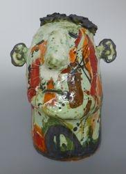 Mary Jones Ceramics.  Patiently Waiting.  SOLD