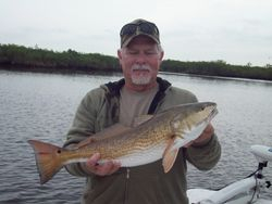 Bill with a 26 1/2 Redfish