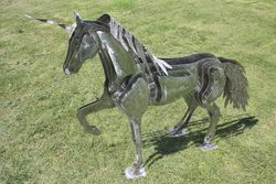 Stainless Steel Unicorn