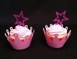 Princess Wand Cupcakes