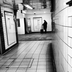 The lone traveller.