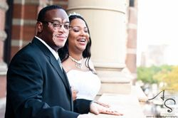 How lovely - Our newly Weds Wayne and Felicia of PA.