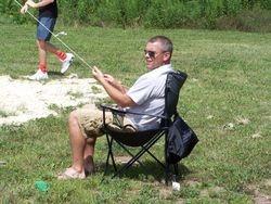 The Referee Glen pulling double duty.