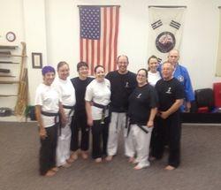 Black Belts - September 2013
