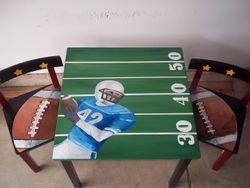 Football table & chairs