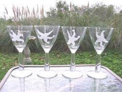 Starfish Wineglasses