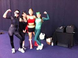 Aerobics at sports centre