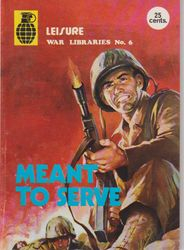 Leisure World Libraries War Comic # 6
