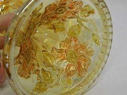 Wild Rose kerosene lamp without Lady Medallion interior
