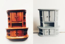 Wooden cupboard, made in China