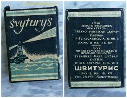 Tabako fabriko Kova, Kaune cigaretes SVYTURYS. Kaina 26