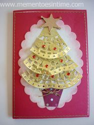Doily Tree Card
