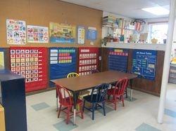 Pre-K classroom area