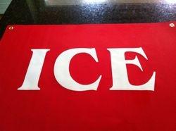 ICE banner