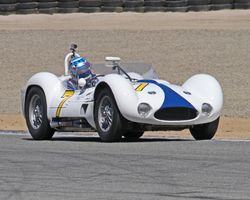 Maseratis on track