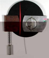 """""""Pressure"""" Hanging Sculpture of Met"""