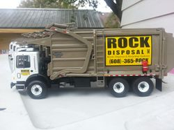 rock disposal