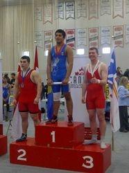 Quinlan Walker - 3rd place at Juvenile Nationals 2014
