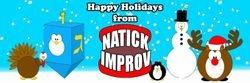 NatickImprov Holiday Logo