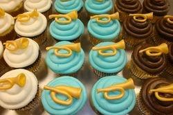 horn cupcakes $3.50 each