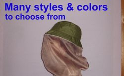 Bug Out hat - Mosquito net hat - Bug proof hat - survival hat