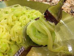 Zucchini Spaghetti using the Spiralizer - The Best Spaghetti Yet!