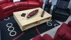 Cedar contemporary style coffee table