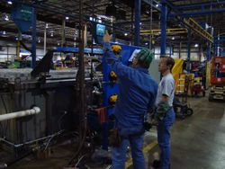 Installing Stainless Steel Water Tank