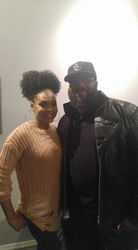 Ulysses Grant and Demetria McKinney visit DTF Radio - For The Love Of R & B