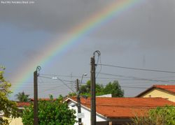 Rainbow seen from home