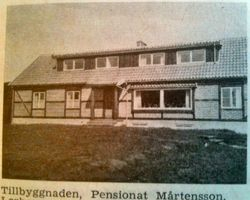 Pensionat Martensson 1949