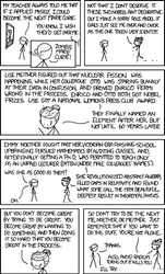 Marie Curie by xkcd