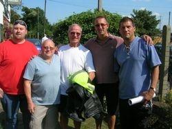Neil Evans, Johnny Saint, Phil Barker , Johnny Kidd