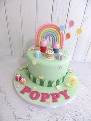 Poppy's 3rd birthday cake