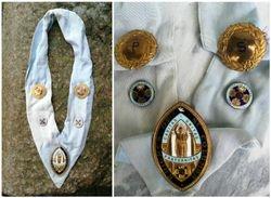 Knights of St. Columbia regalija. Kaina 82