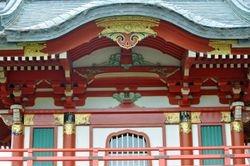 Temple Gate Detail 2, Japanese Tea Garden
