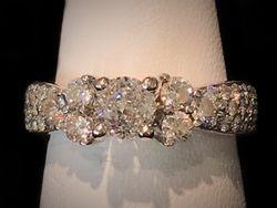Crown of Light diamond ring