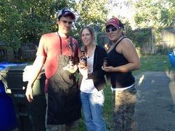 Grill Master Russ, Laura and Vaneda
