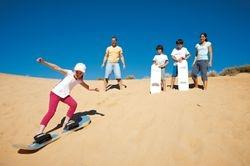 Sandhill Surfing