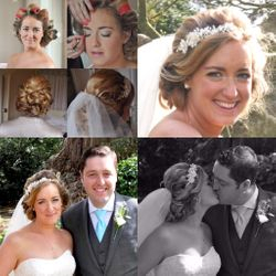 Bridal Wedding Hair and Makeup Haughley Park Barn Bury St Edmunds