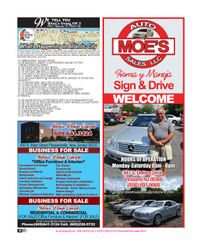 Moe's Auto Sales / Interior Desing Concepts / What's Happening in Atlantic City-NJ