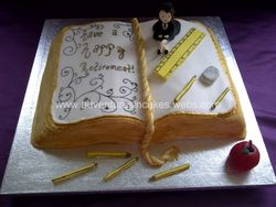 Teachers retirement cake