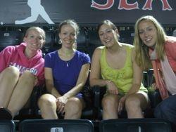 Heather, Sarah, Meghan, & Kiley