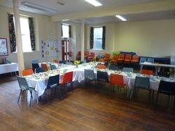 Easter breakfast table 2