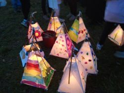 12 Primary Schools made lanterns for the Parade