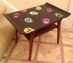 Sugar skulls table.
