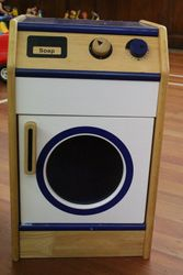Washing machine - wooden