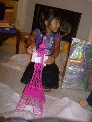 Her very own Eifel Tower