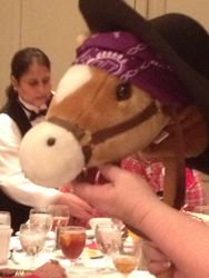 Chuy - Our stick horse competitor