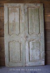 #29/230 FRENCH ARMOIRE DOORS